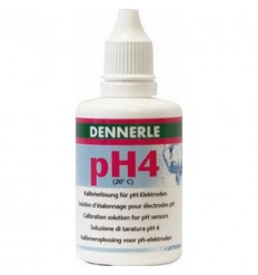 Dennerle ijkoplossing PH 4