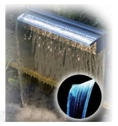 NIAGARA Led RVS waterval 90cm
