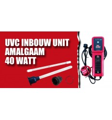 UV lamp 40W voor Red Label Inbouwunit