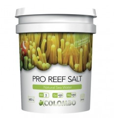 COLOMBO NATURAL REEF SALT 22kg emmer